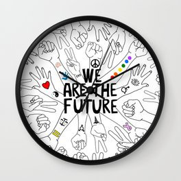 We Are The Future Tattoos Part 1 Wall Clock