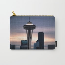 Space Needle Sunset - Seattle Nights Carry-All Pouch