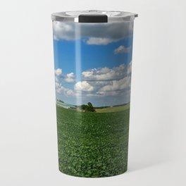 Soybean farm in Missouri Travel Mug