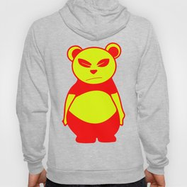 Andy's bear   pop art (yellow and red) Hoody