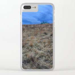 Approaching Storm in Eastern Washington Clear iPhone Case