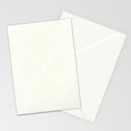 skip and jump yellow Stationery Cards
