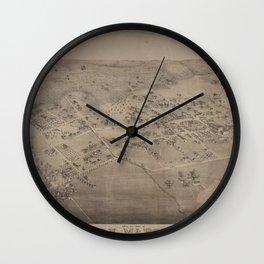 San Marcos 1881 Wall Clock
