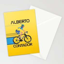 Alberto Contador Stationery Cards