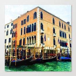 Gritti Palace Hotel Canvas Print