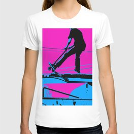 Air Walking Scooter Stunt T-shirt