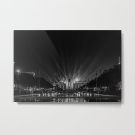 BW at the Dallas Fair Metal Print