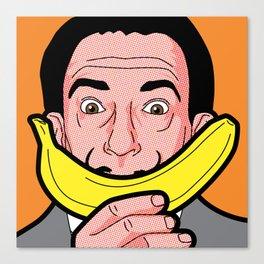 Pop Icon - Salvador Warhol Canvas Print