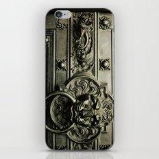 Lion Door iPhone & iPod Skin