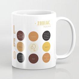 Leo Zodiac Sign Personality Coffee Mug