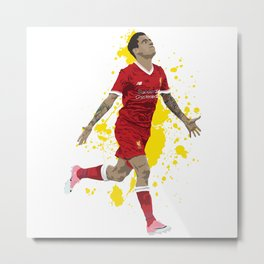 Philippe Coutinho - Liverpool Metal Print