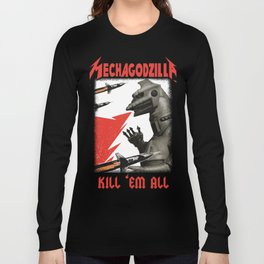 Mechgodzilla Long Sleeve T-shirt