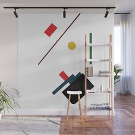 Geometric Abstract Malevic #7 Wall Mural