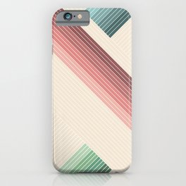 Vintage Geometric iPhone Case