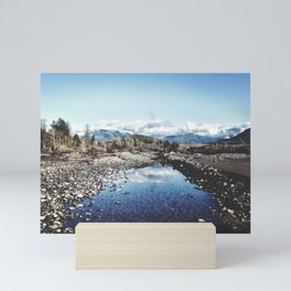 Nooksack River Bellingham Washington Mini Art Print