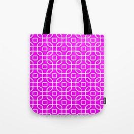 Grille No. 4 -- Violet Tote Bag