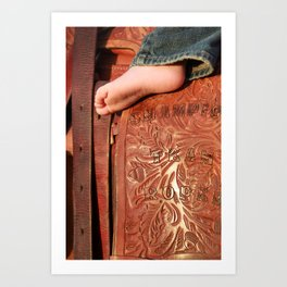 Big Boots To Fill Art Print