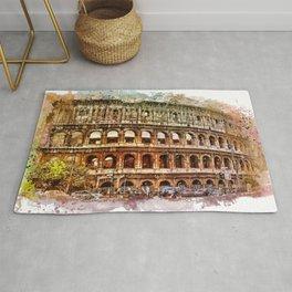 Colosseum Rome Rug