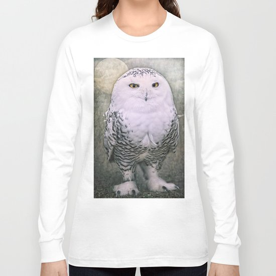 Snowy Owl Long Sleeve T-shirt
