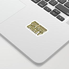 Uh Huh Honey Sticker