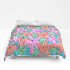 Tropical Starfish Print Comforters