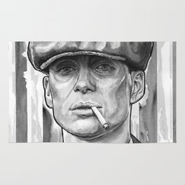 Tommy Shelby, Peaky Blinders by Nicky Anthony Rug