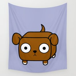 Pitbull Loaf - Red Brown Pit Bull with Floppy Ears Wall Tapestry