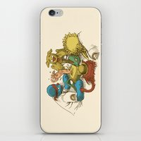sesame street iPhone & iPod Skins featuring Open Sesame by Eric Fan
