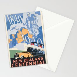 Vintage poster - New Zealand Stationery Cards