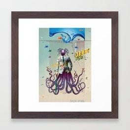 Mr Octapius Framed Art Print