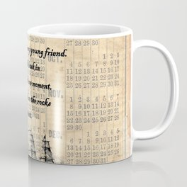 Count of Monte Cristo quote Coffee Mug