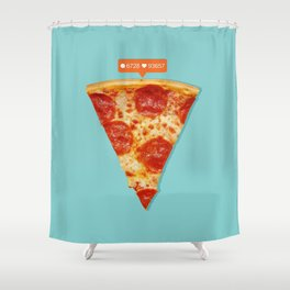 Pizza Shower Curtain