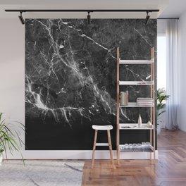 Black Gray Marble #1 #decor #art #society6 Wall Mural