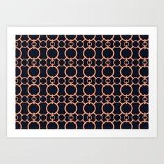 Simple Chainmail Art Print