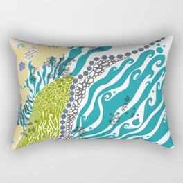 Beehive Island Rectangular Pillow