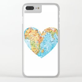 World Clear iPhone Case