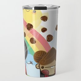 Roasted Chestnuts can save the world!!! Travel Mug
