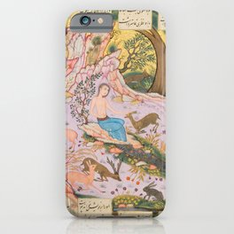 Iranian Art, 17th Century iPhone Case