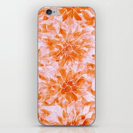 The Smell of Spring 3 / Monochrome / Apricot iPhone Skin