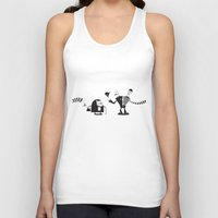 police Tank Tops featuring Police Duality by Haragos