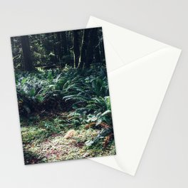 Undergrowth - Olympic National Park II Stationery Cards