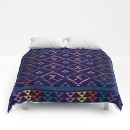 Bohemian Kilim Ethnic Pattern 1 Comforters