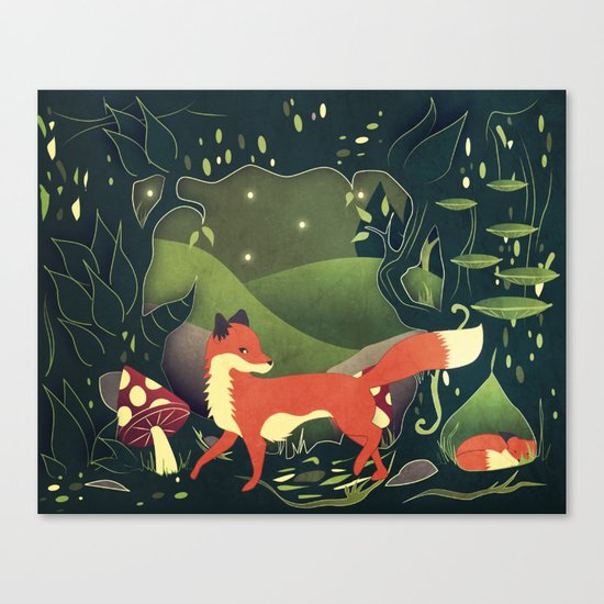protector of the innocent Canvas Print