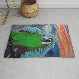 Parrot Scream Rug