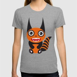 Funny orange monster T-shirt