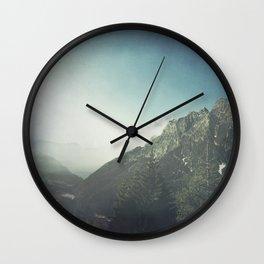 Valley Morning - Lombardy- Italy Wall Clock