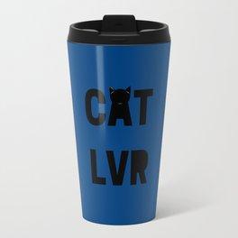 Cat Lover Travel Mug