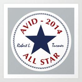 Avid All Star Art Print