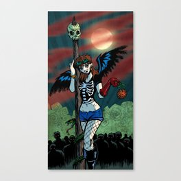 ♬♫♬ I see a bad moon a-rising... ♬♫♬ Canvas Print
