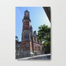 Jefferson Market Library Metal Print